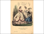 Ball gowns, 1865