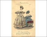 Evening dresses, 1834