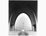 St. Elizabeth's church interior, 1956