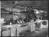 Men packing shingles, ca. 1915