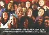 Ignite Dinner Brochure for Young Women Empowered