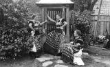 Women in costume, Hungary, circa 1930-1937
