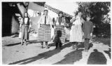 Women in costume, Prilep, Macedonia (Southern Serbia, former Yugoslavia), circa 1930-1937