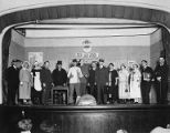 Scene from the production of General Direktøren for the Danish Dramatic club of Seattle called Harmonien, November 1924