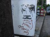 Street art criticism